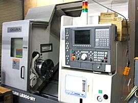 オークマ社製CNC旋盤 LB-300MY